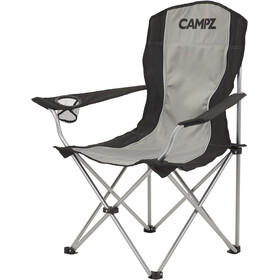 CAMPZ Silla plegable, black/grey